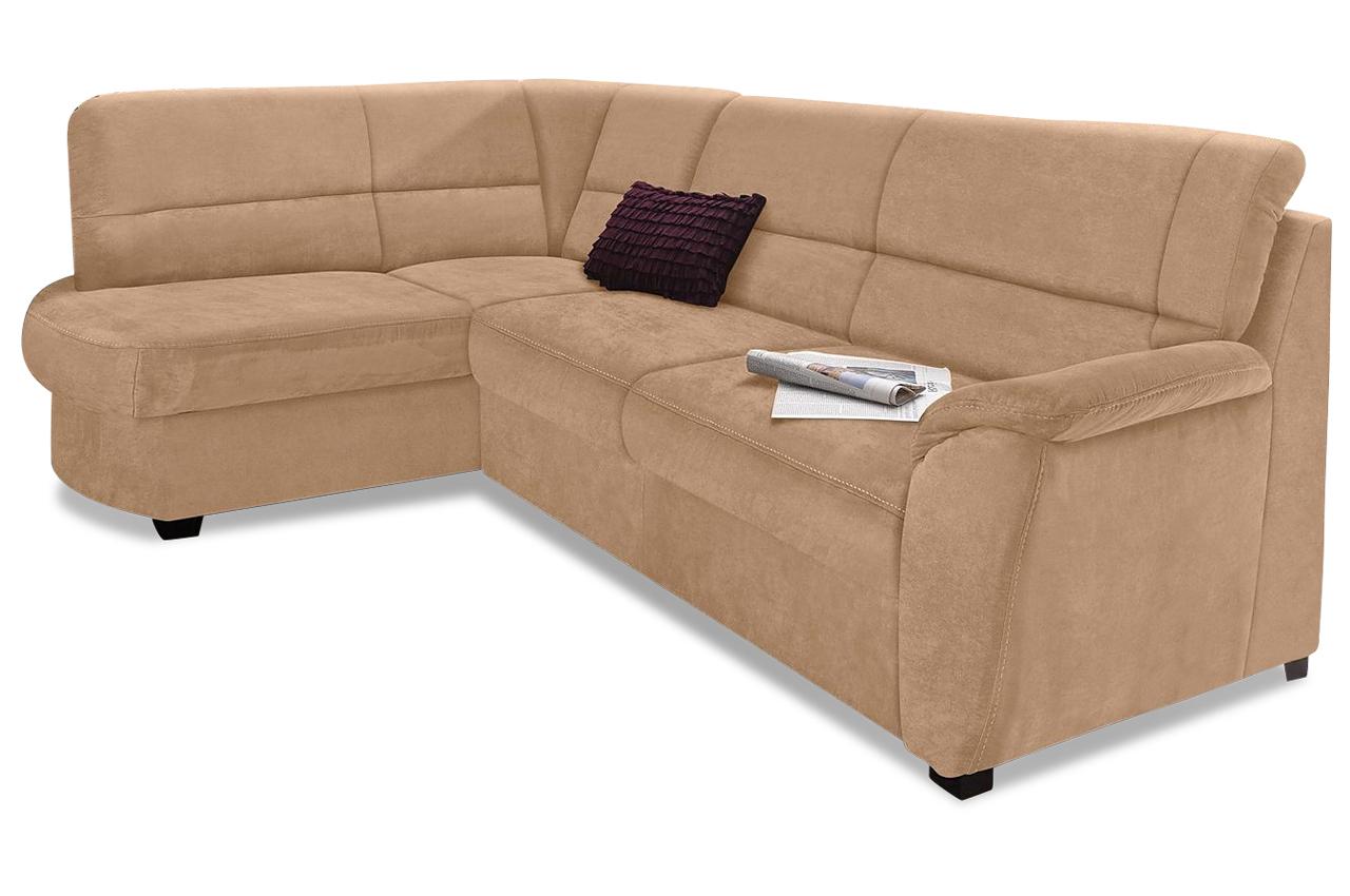 ecksofa xl pandora mit schlaffunktion braun mit federkern sofa couch ecks ebay. Black Bedroom Furniture Sets. Home Design Ideas