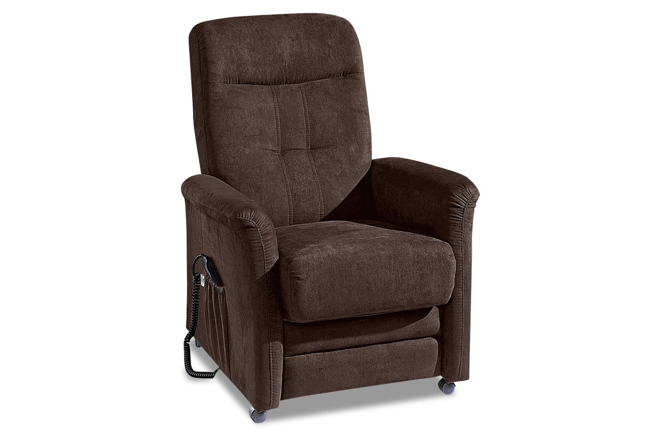 Fernsehsessel tv charlie braun sofas zum halben preis for Fernsehsessel braun