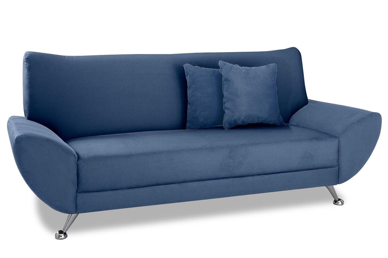 3er sofa saltare blau sofas zum halben preis. Black Bedroom Furniture Sets. Home Design Ideas