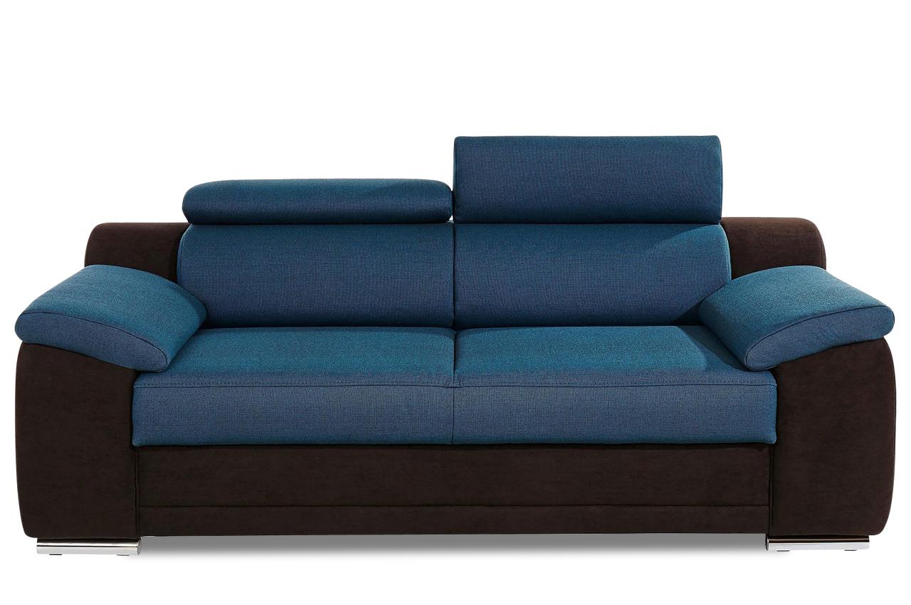 3er sofa blau sofas zum halben preis. Black Bedroom Furniture Sets. Home Design Ideas