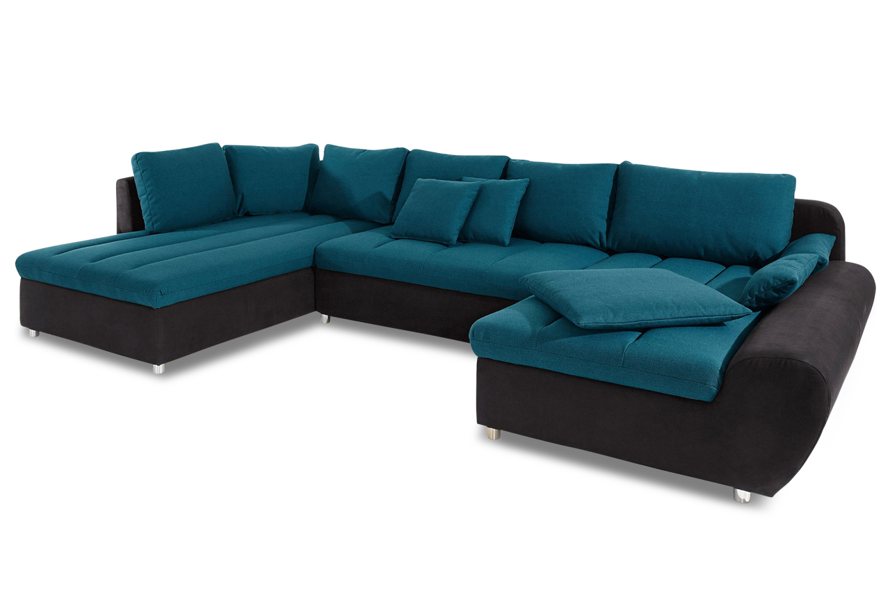 wohnlandschaft bandos xxl gruen sofa couch ecksofa ebay. Black Bedroom Furniture Sets. Home Design Ideas