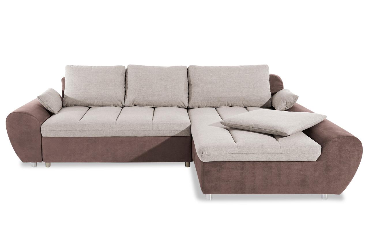 sit more ecksofa bandos xl braun sofas zum halben preis. Black Bedroom Furniture Sets. Home Design Ideas