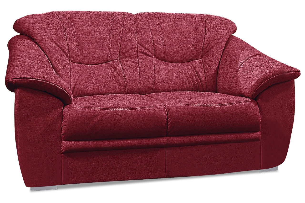 2er sofa rot sofas zum halben preis. Black Bedroom Furniture Sets. Home Design Ideas