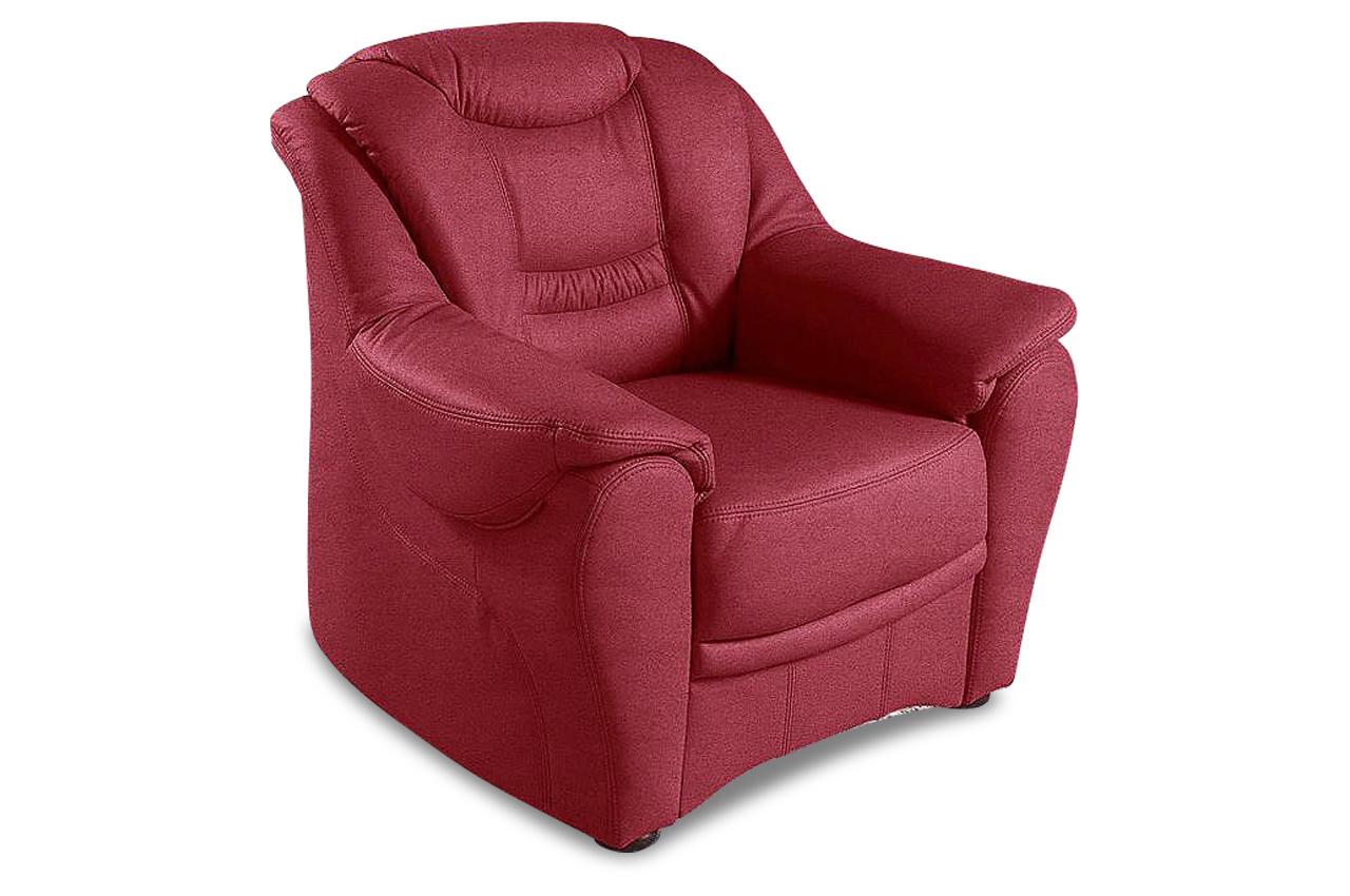 sit more sessel bansin rot mit federkern sofa couch ecksofa. Black Bedroom Furniture Sets. Home Design Ideas
