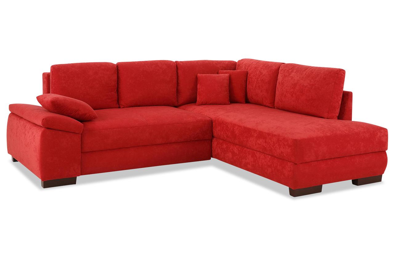 ecksofa xl trinidad mit schlaffunktion rot mit boxspring sofas zum halben preis. Black Bedroom Furniture Sets. Home Design Ideas