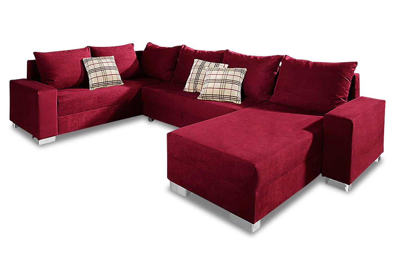 sit more wohnlandschaft maximo mit bett sofas zum halben preis. Black Bedroom Furniture Sets. Home Design Ideas