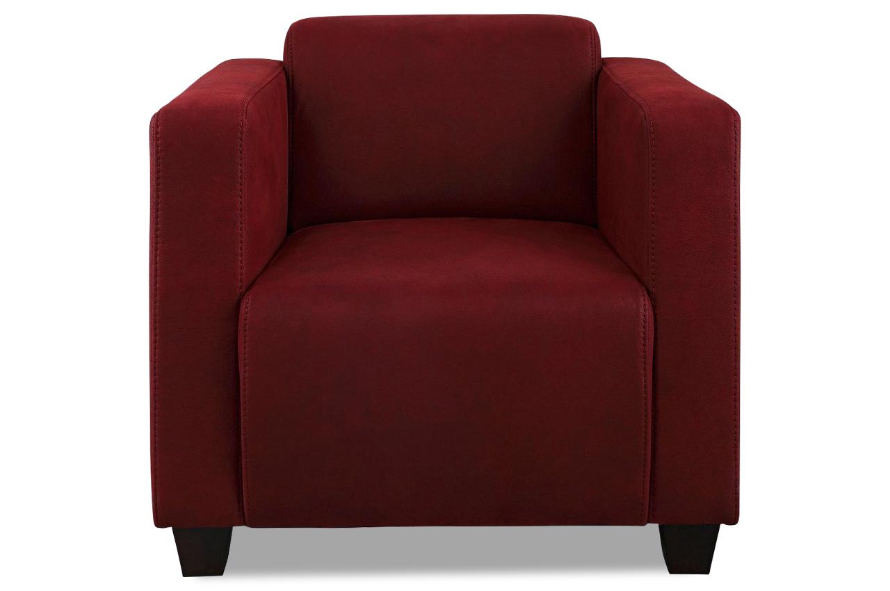 sessel charles rot sofas zum halben preis. Black Bedroom Furniture Sets. Home Design Ideas