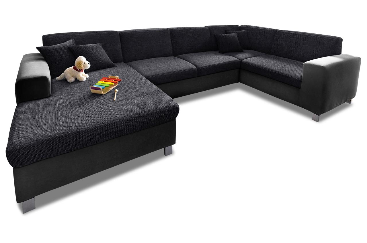 wohnlandschaft avil mit bett sofas zum halben preis. Black Bedroom Furniture Sets. Home Design Ideas
