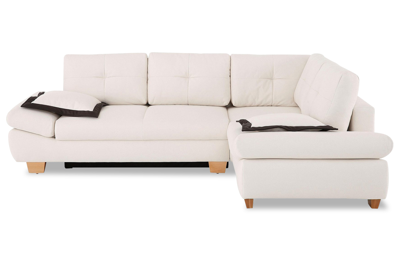 ecksofa xl mailo creme sofas zum halben preis. Black Bedroom Furniture Sets. Home Design Ideas