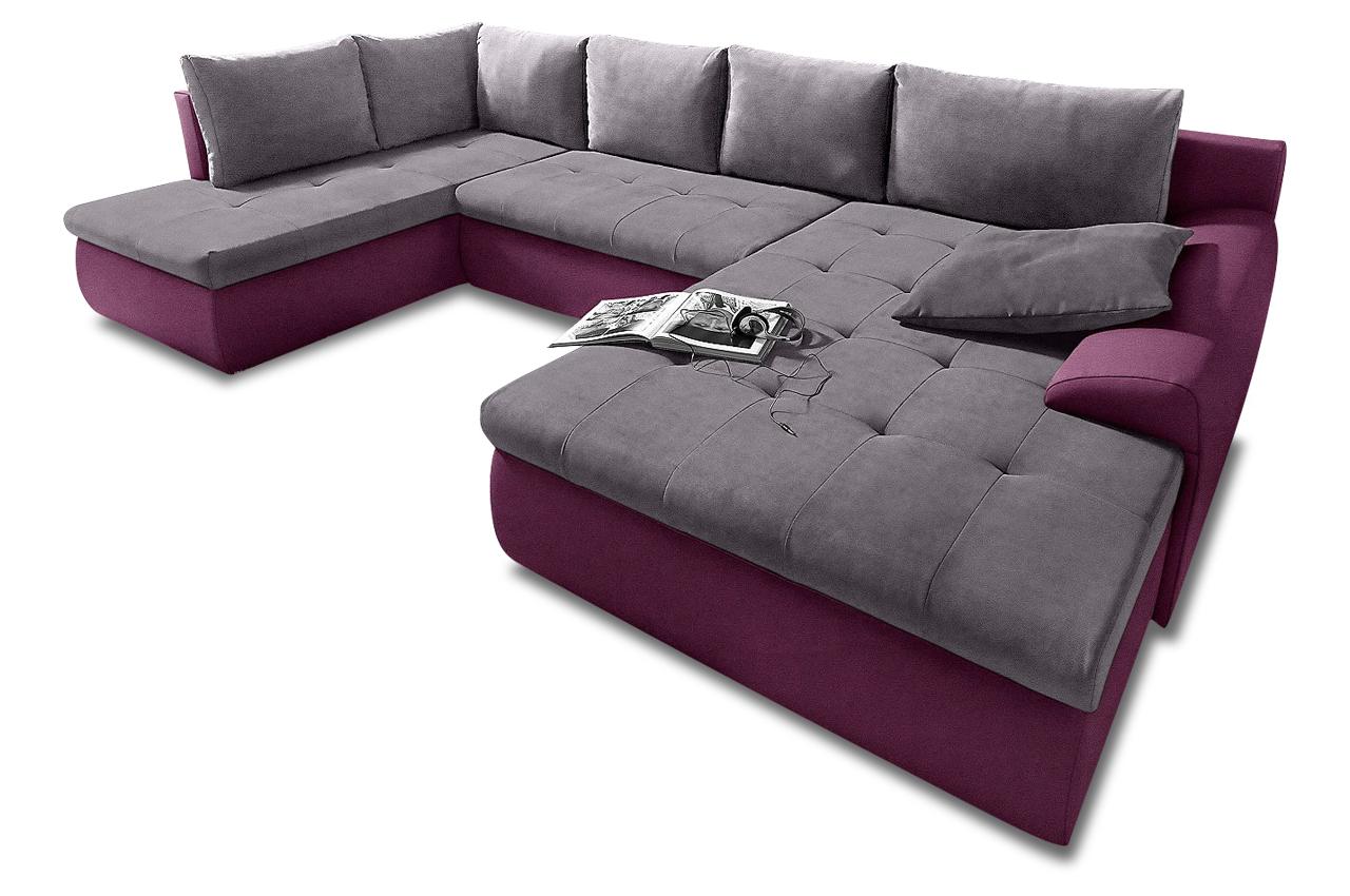 sit more wohnlandschaft cecile xl mit bett sofas zum halben preis. Black Bedroom Furniture Sets. Home Design Ideas