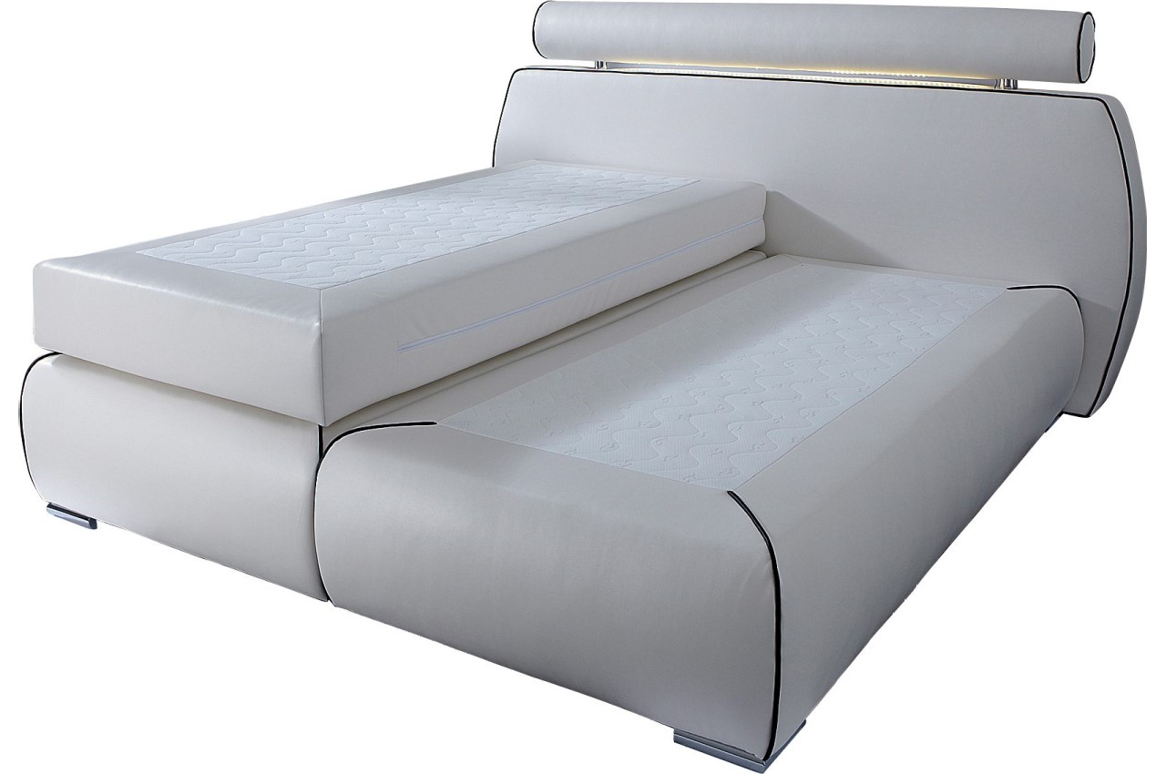 Collection Ab Boxspringbett 180x200 Cannes Mit Led Weiss Mit
