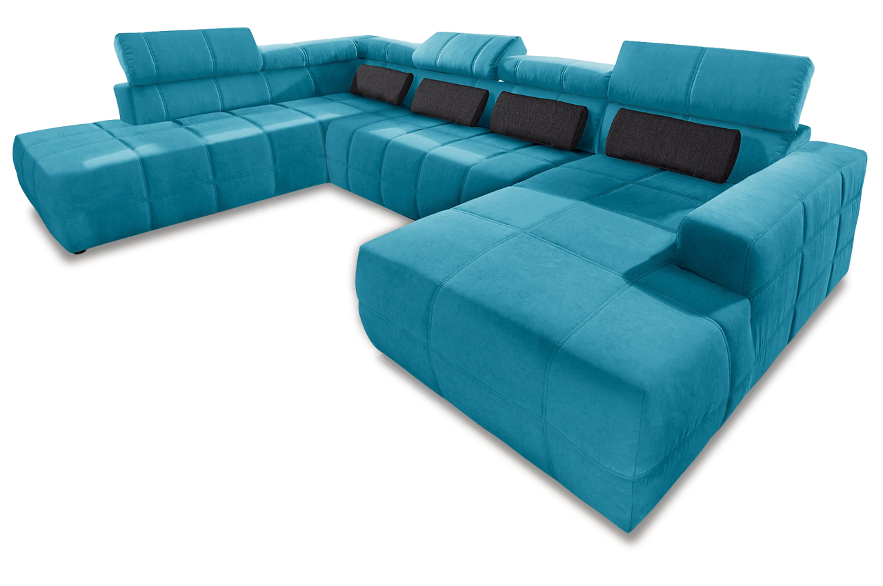 xxl wohnlandschaft brandon mit sitzverstellung sofas zum halben preis. Black Bedroom Furniture Sets. Home Design Ideas
