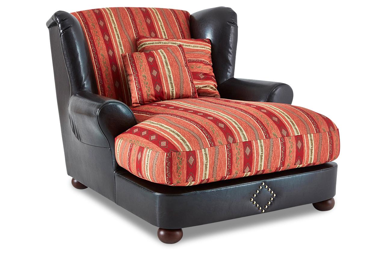 bigsessel xxl rot sofas zum halben preis. Black Bedroom Furniture Sets. Home Design Ideas