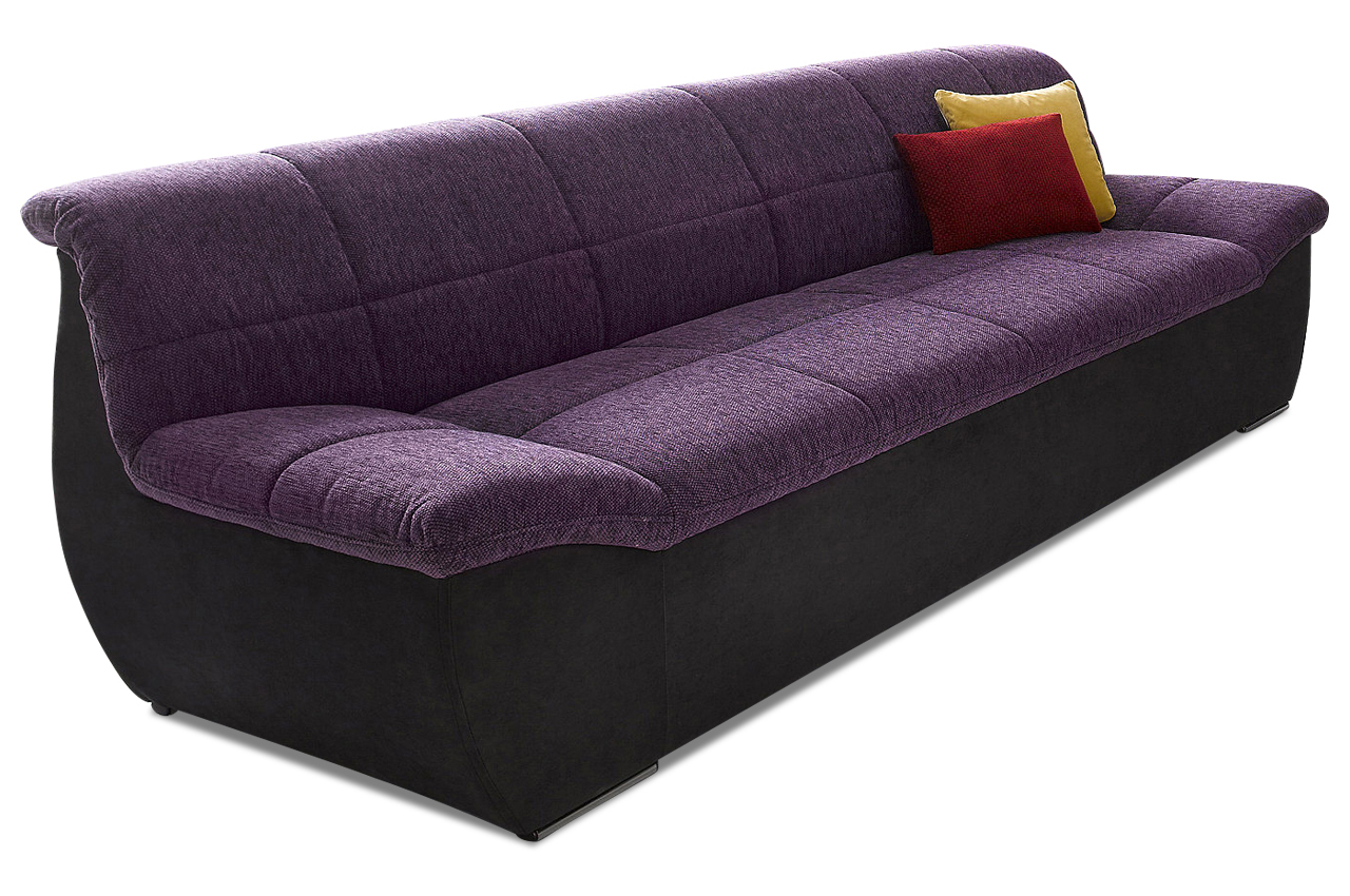 3er sofa square violette sofas zum halben preis. Black Bedroom Furniture Sets. Home Design Ideas