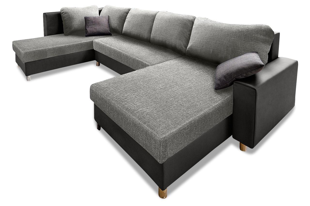 sit more wohnlandschaft filou mit bett sofas zum halben. Black Bedroom Furniture Sets. Home Design Ideas