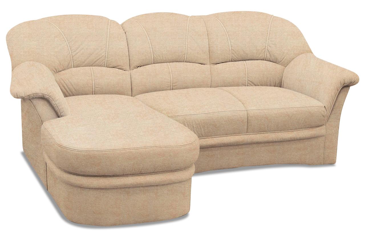 Polsterecke kampen mit bett sofa couch ecksofa ebay for Bett mit couch