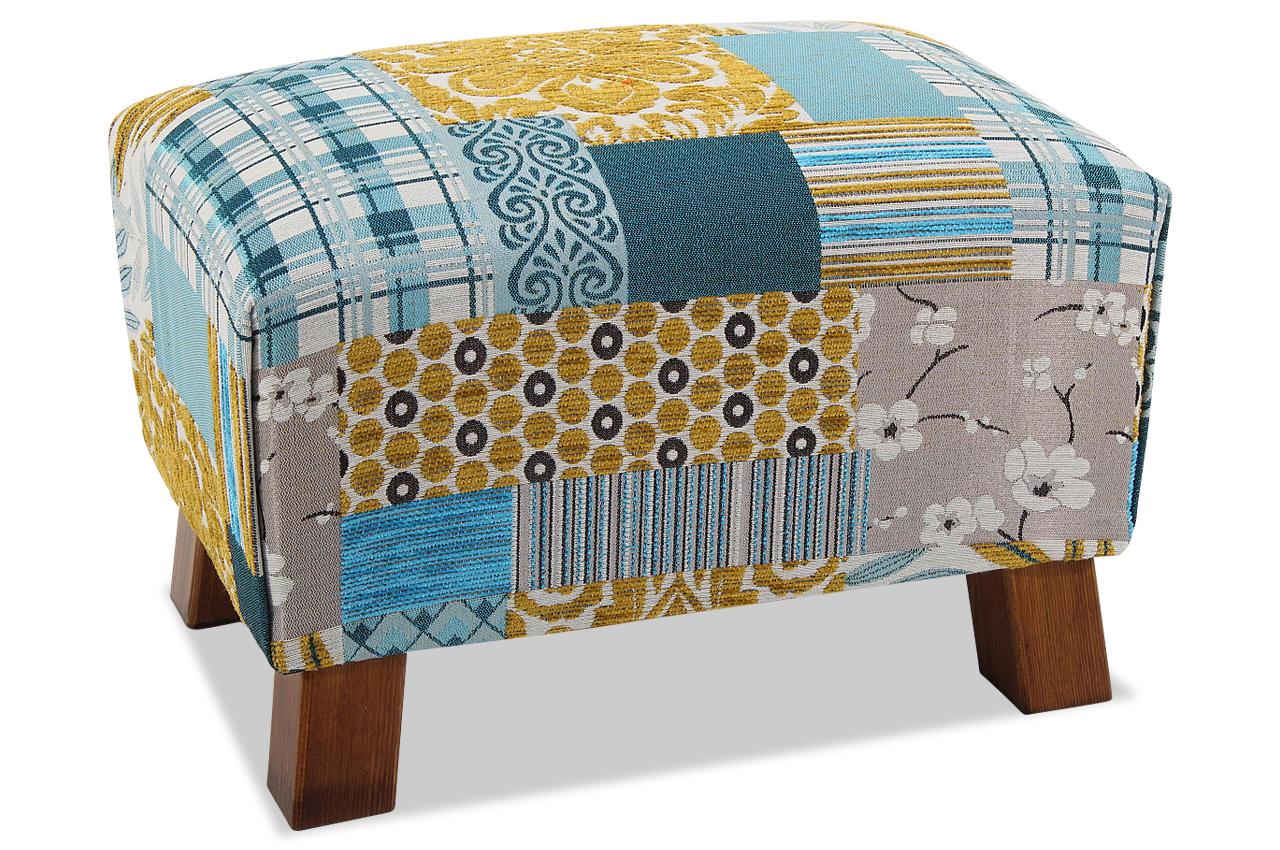 max winzer hocker footstool blau sofas zum halben preis. Black Bedroom Furniture Sets. Home Design Ideas