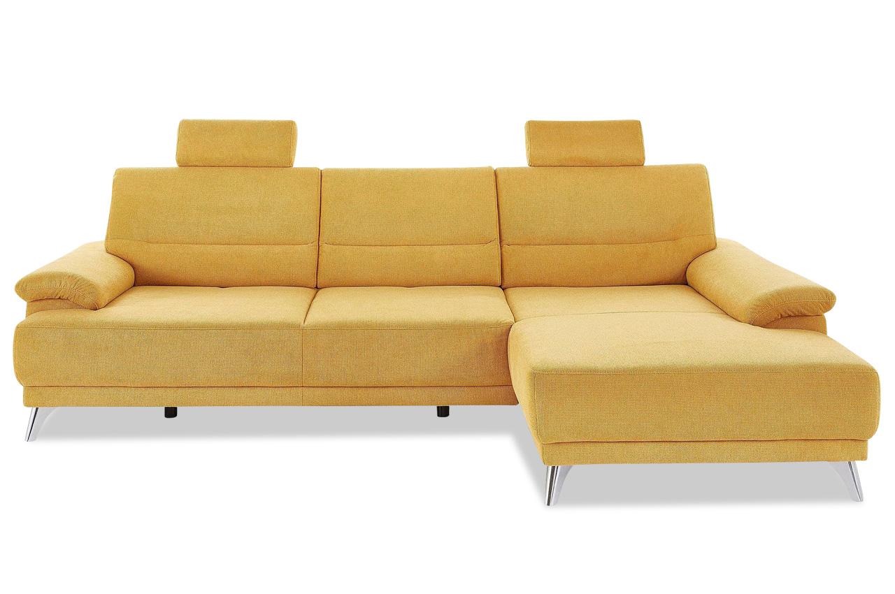 ecksofa mit sitzverstellung gelb sofas zum halben preis. Black Bedroom Furniture Sets. Home Design Ideas