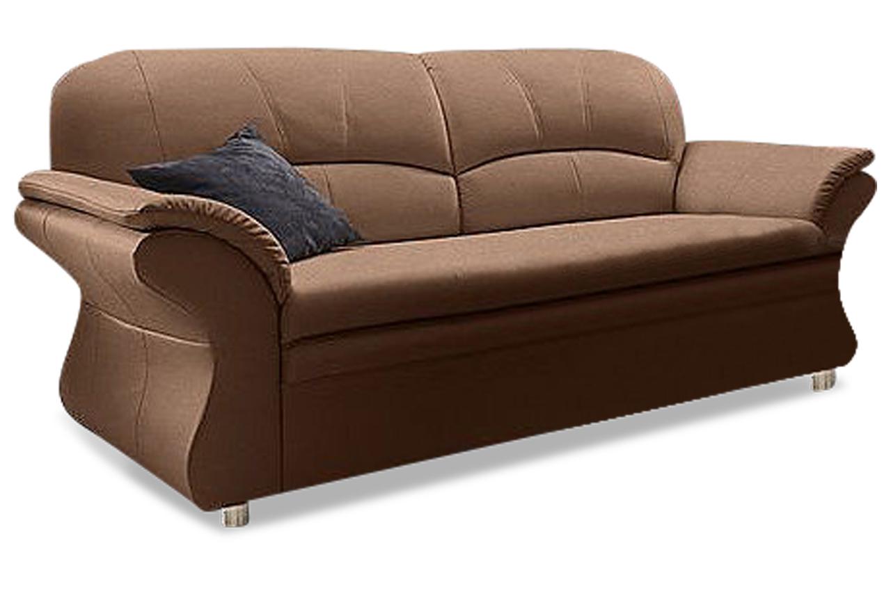 sit more einzelsofa 3er sofa pompeji microfaser sofa couch ecksofa ebay. Black Bedroom Furniture Sets. Home Design Ideas