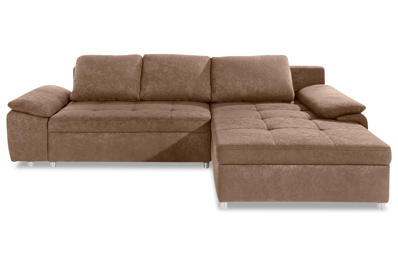 ecksofa labene braun sofa couch ecksofa ebay. Black Bedroom Furniture Sets. Home Design Ideas