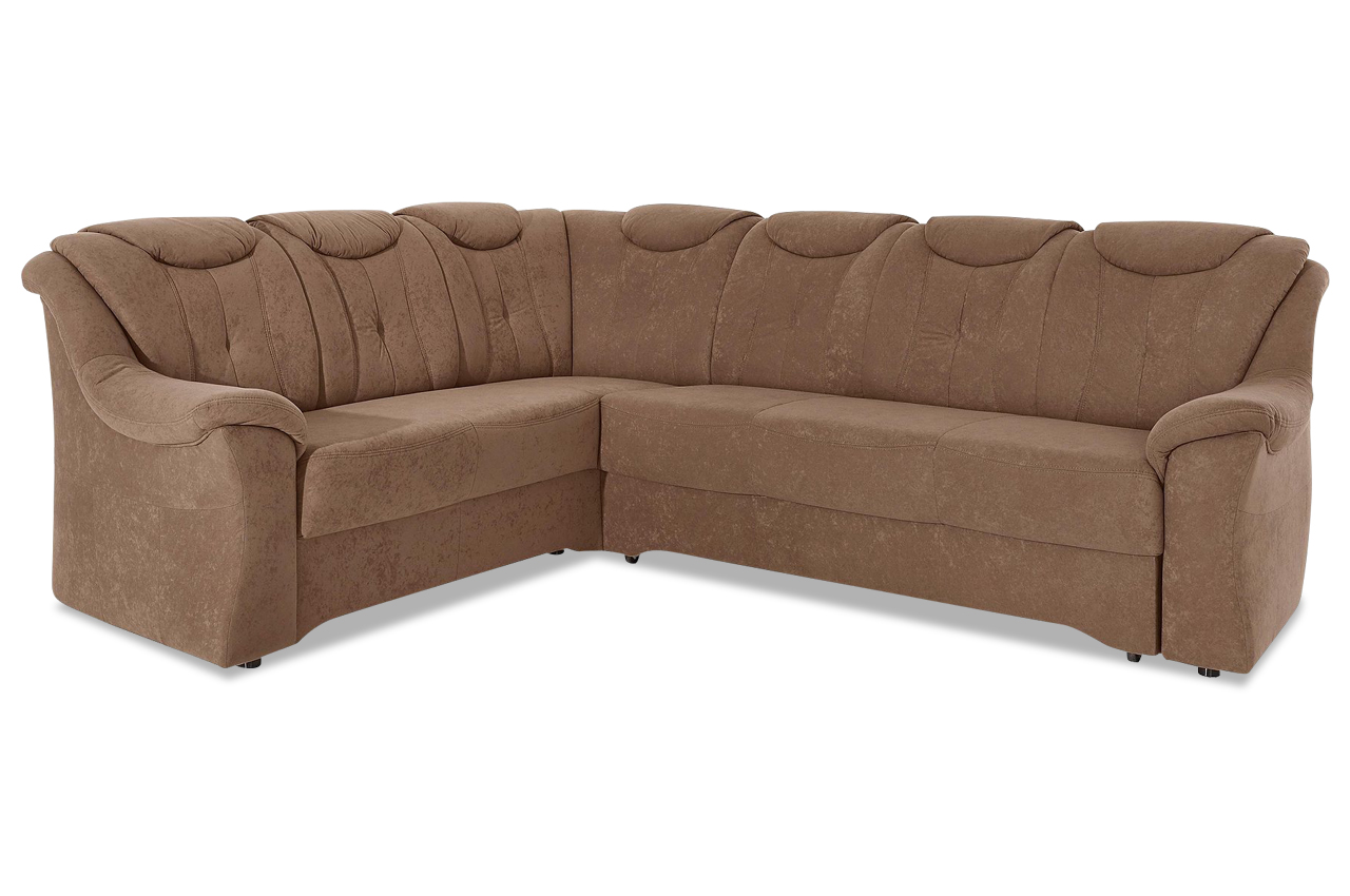 Ecksofa xl braun sofas zum halben preis for Ecksofa microfaser braun