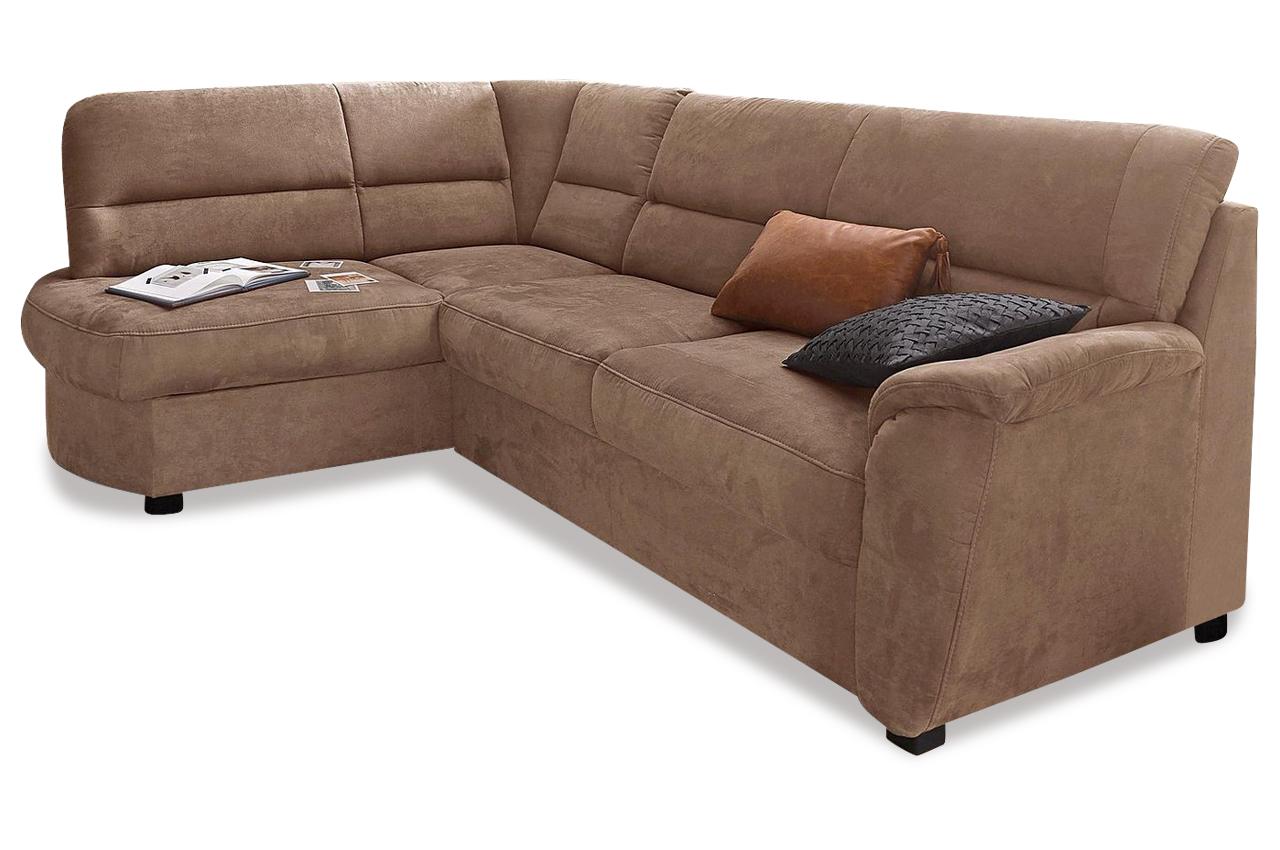 Ecksofa Xl Pandora Mit Schlaffunktion Braun Mit Federkern Sofa Couch Ecks Ebay