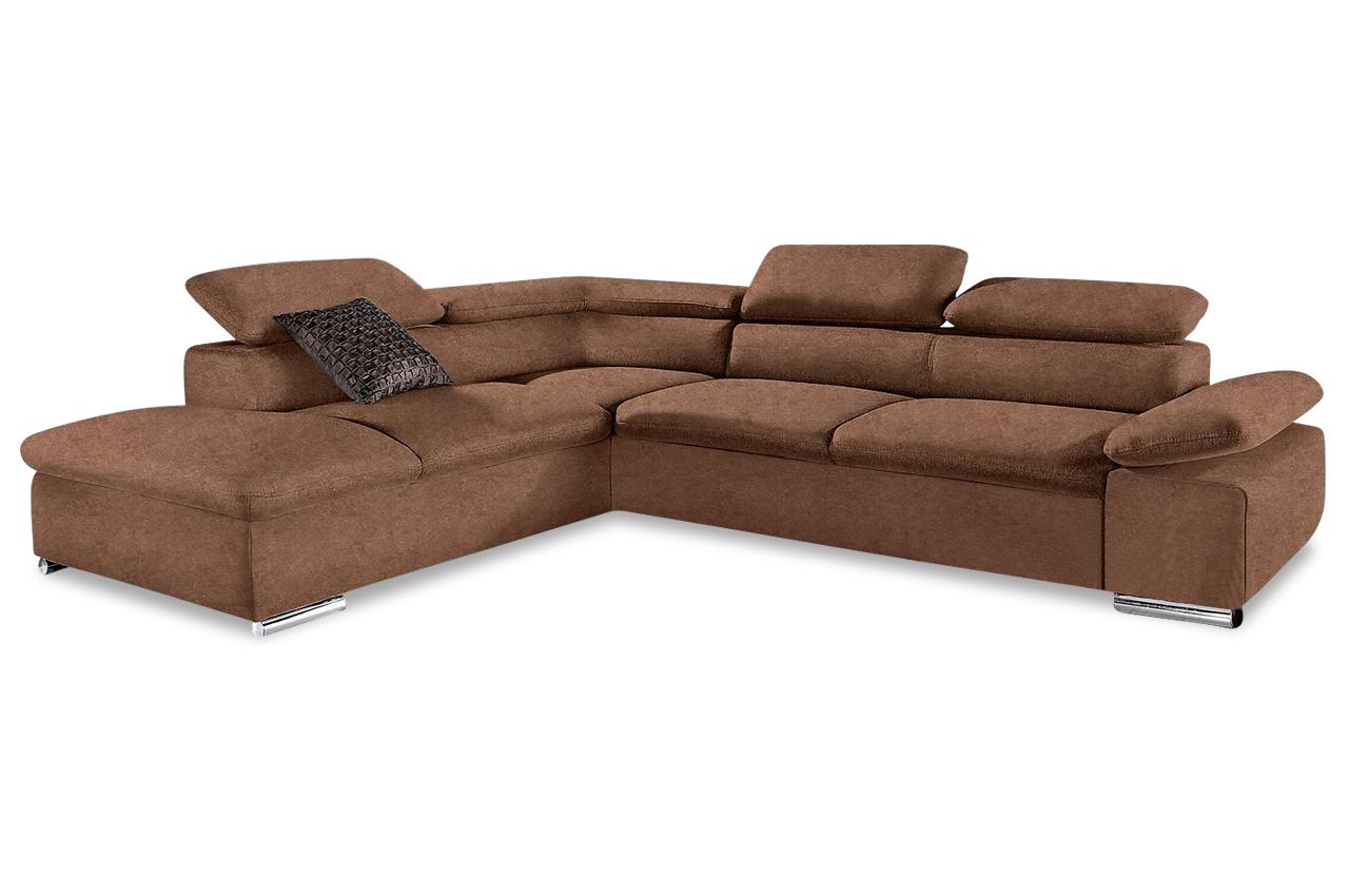 sit more ecksofa xl valantine braun sofas zum halben preis. Black Bedroom Furniture Sets. Home Design Ideas