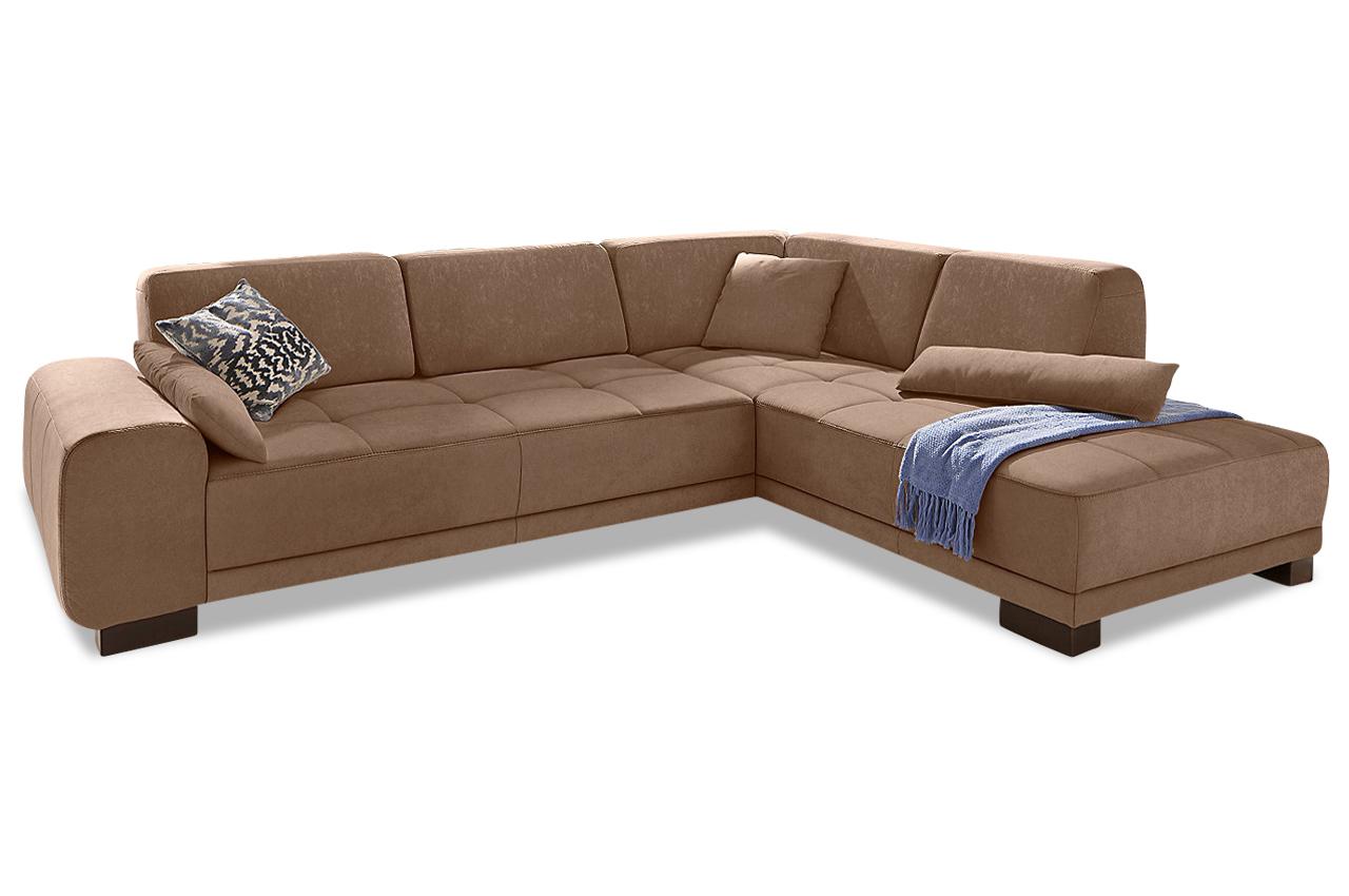 ecksofa xl mit sitzverstellung braun sofas zum halben preis. Black Bedroom Furniture Sets. Home Design Ideas
