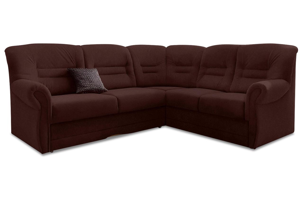 Rundecke Landeck Microfaser Sofa Couch Ecksofa Ebay