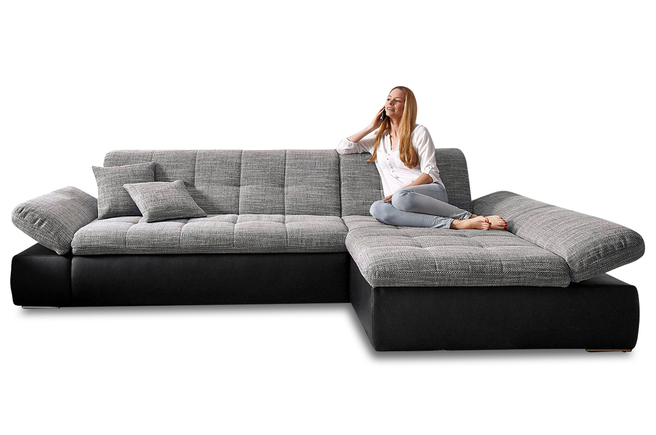 ecksofa moric kis mit schlaffunktion anthrazit sofas zum halben preis. Black Bedroom Furniture Sets. Home Design Ideas