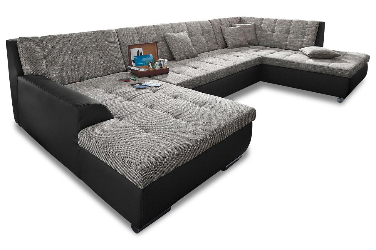 wohnlandschaft treviso anthrazit sofas zum halben preis. Black Bedroom Furniture Sets. Home Design Ideas
