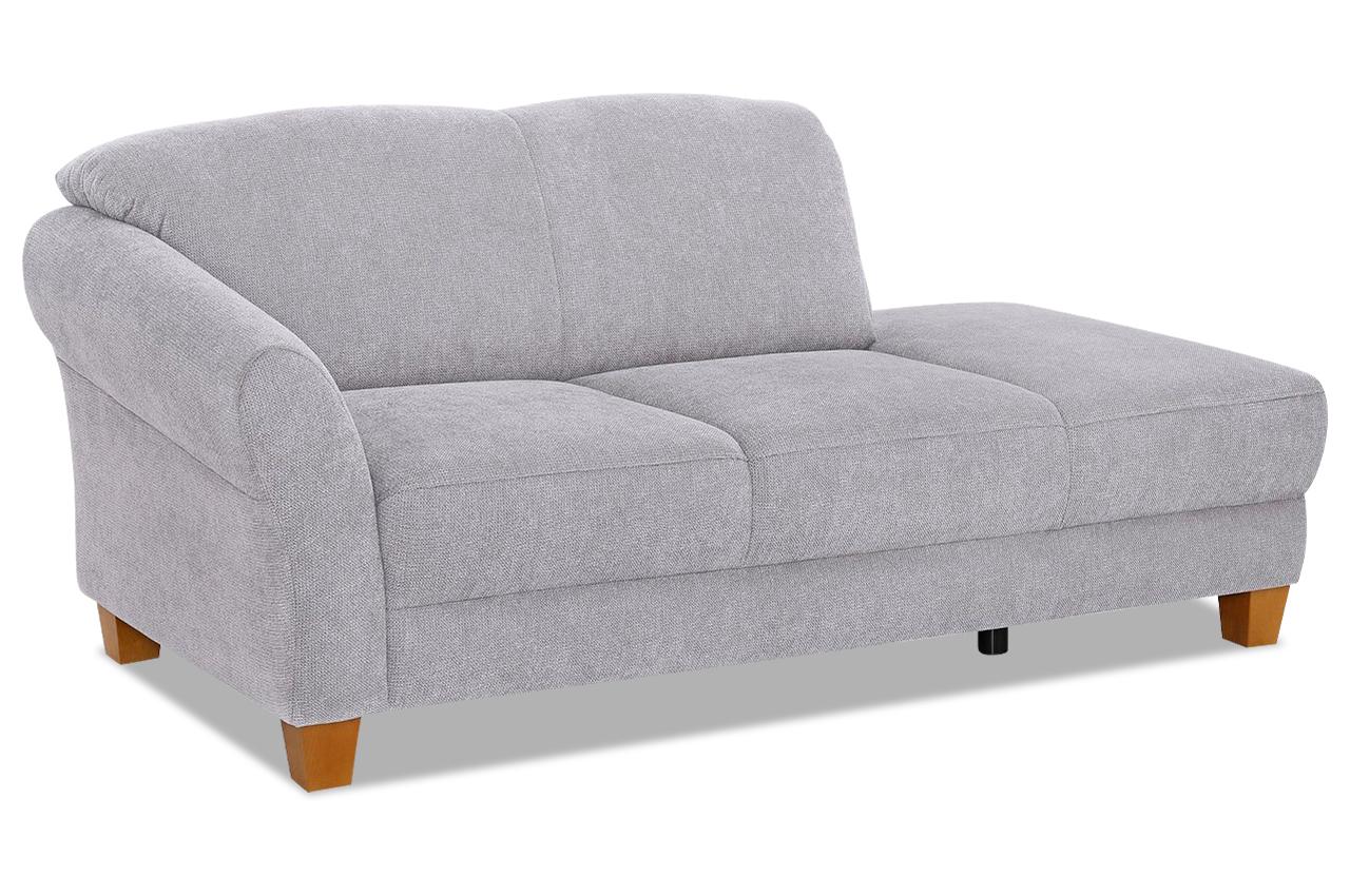 Recamiere - Grau | Sofas zum halben Preis