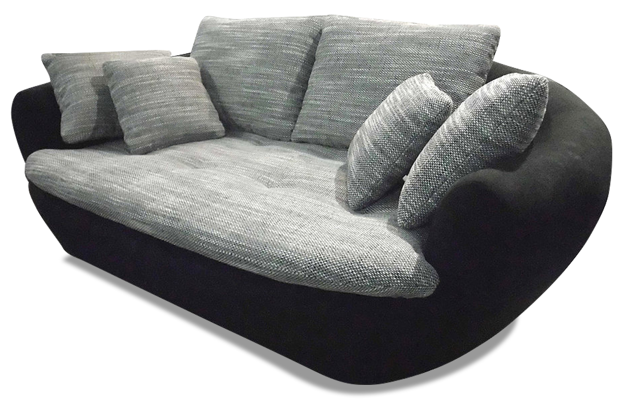 2er sofa lagoon schwarz sofas zum halben preis. Black Bedroom Furniture Sets. Home Design Ideas