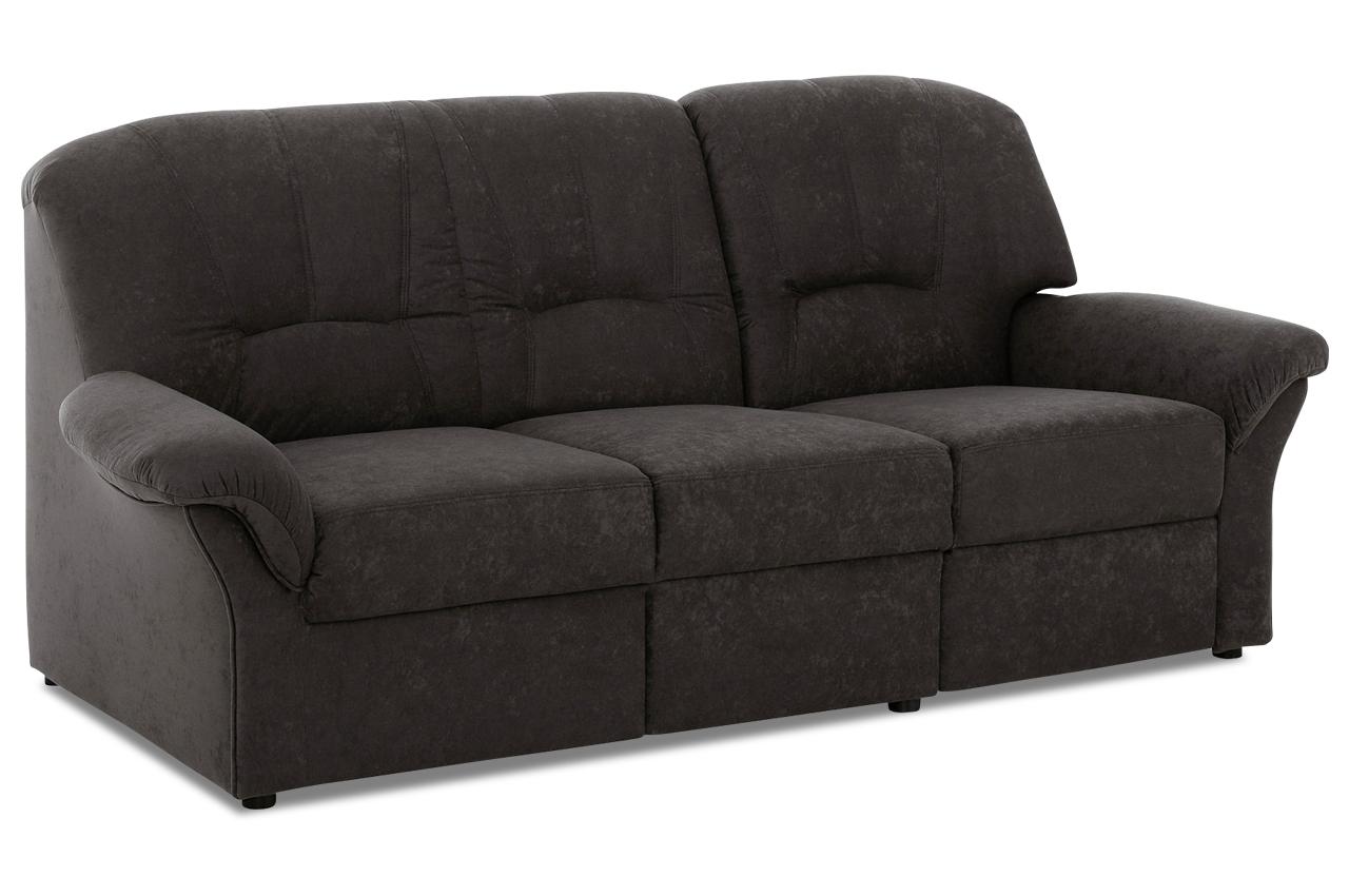 3er sofa wesley mit relax anthrazit sofa couch. Black Bedroom Furniture Sets. Home Design Ideas