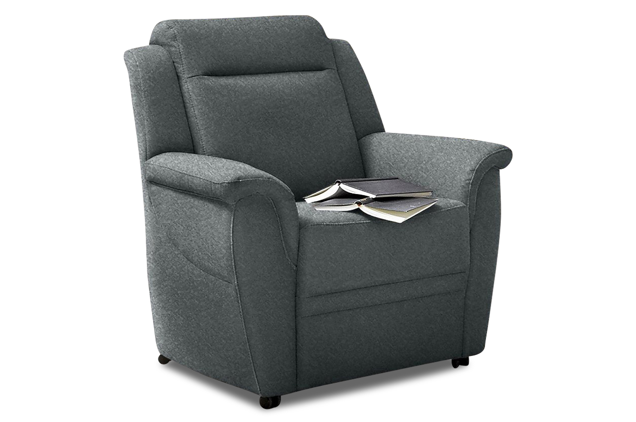 sessel grau mit federkern sofas zum halben preis. Black Bedroom Furniture Sets. Home Design Ideas
