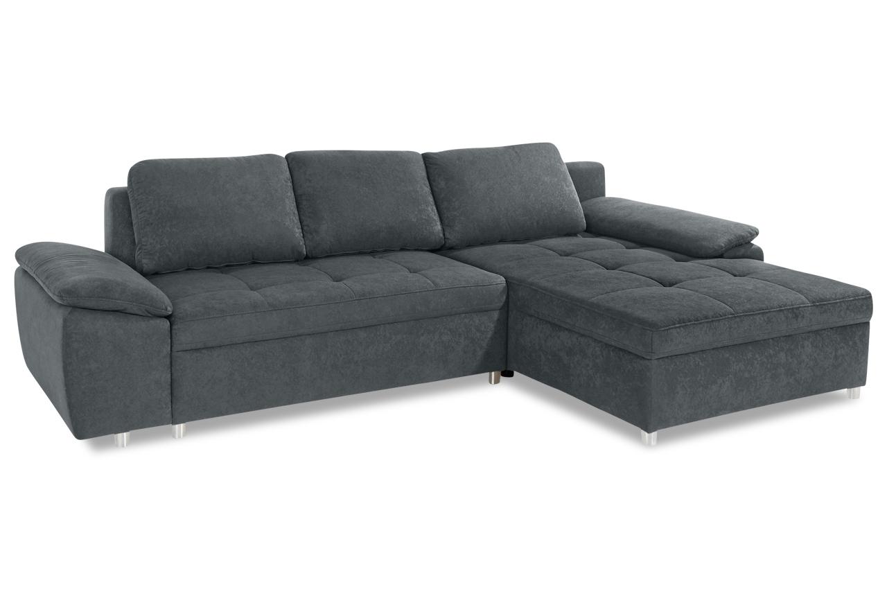 Sit more ecksofa labene mit schlaffunktion grau sofa for Ecksofa ebay