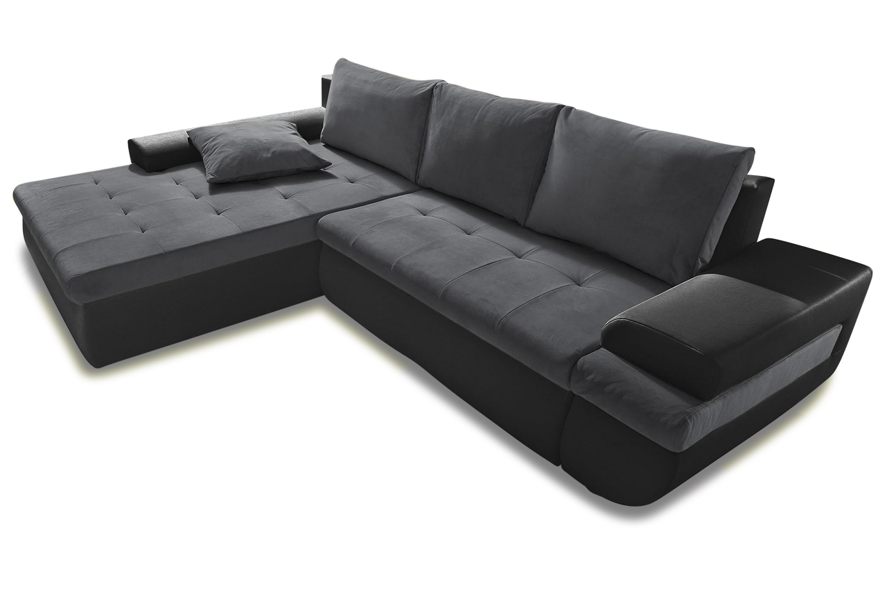 sit more polsterecke caramba xl mit bett sofas zum halben preis. Black Bedroom Furniture Sets. Home Design Ideas