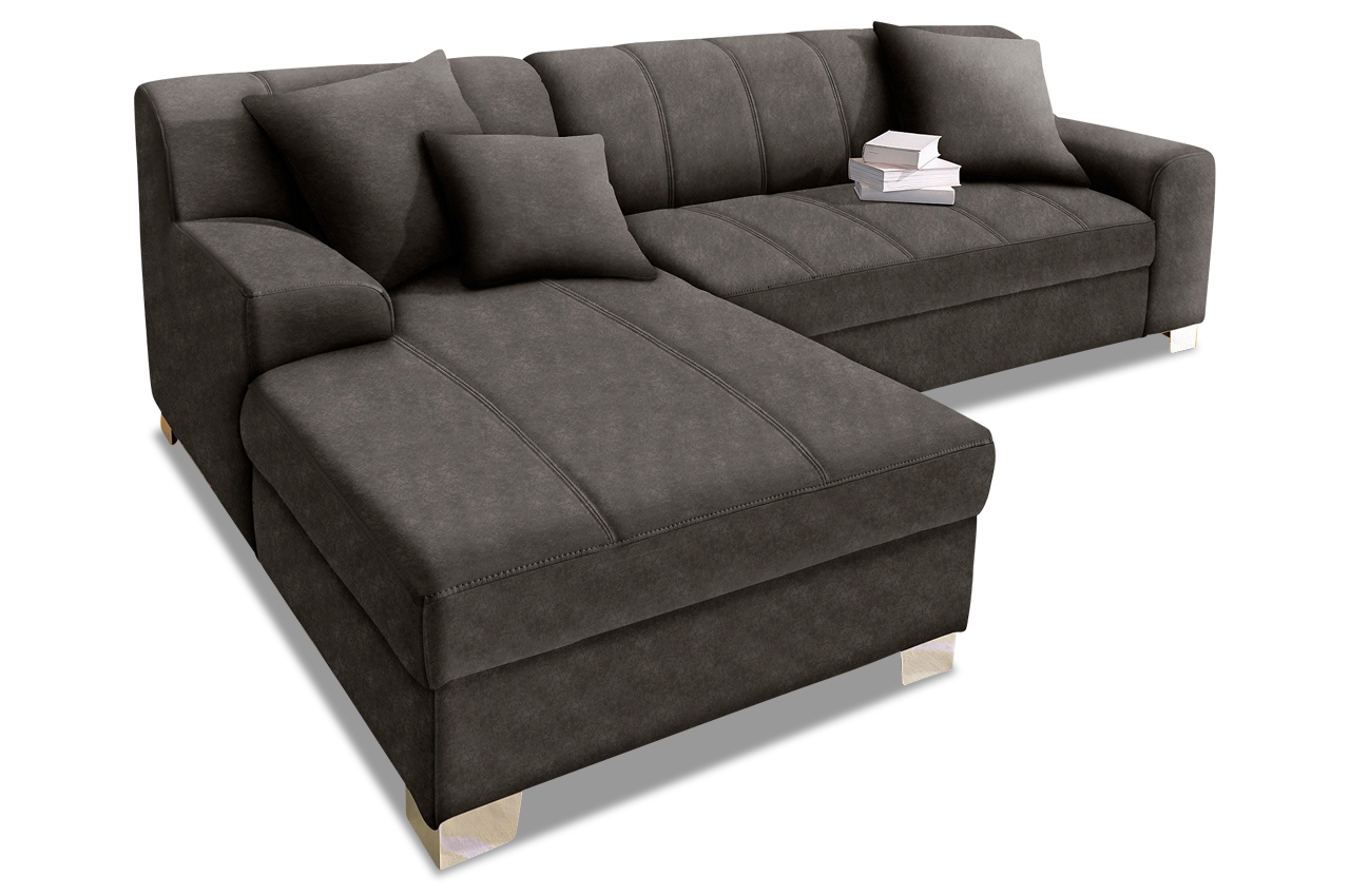 ecksofa capri anthrazit sofas zum halben preis. Black Bedroom Furniture Sets. Home Design Ideas