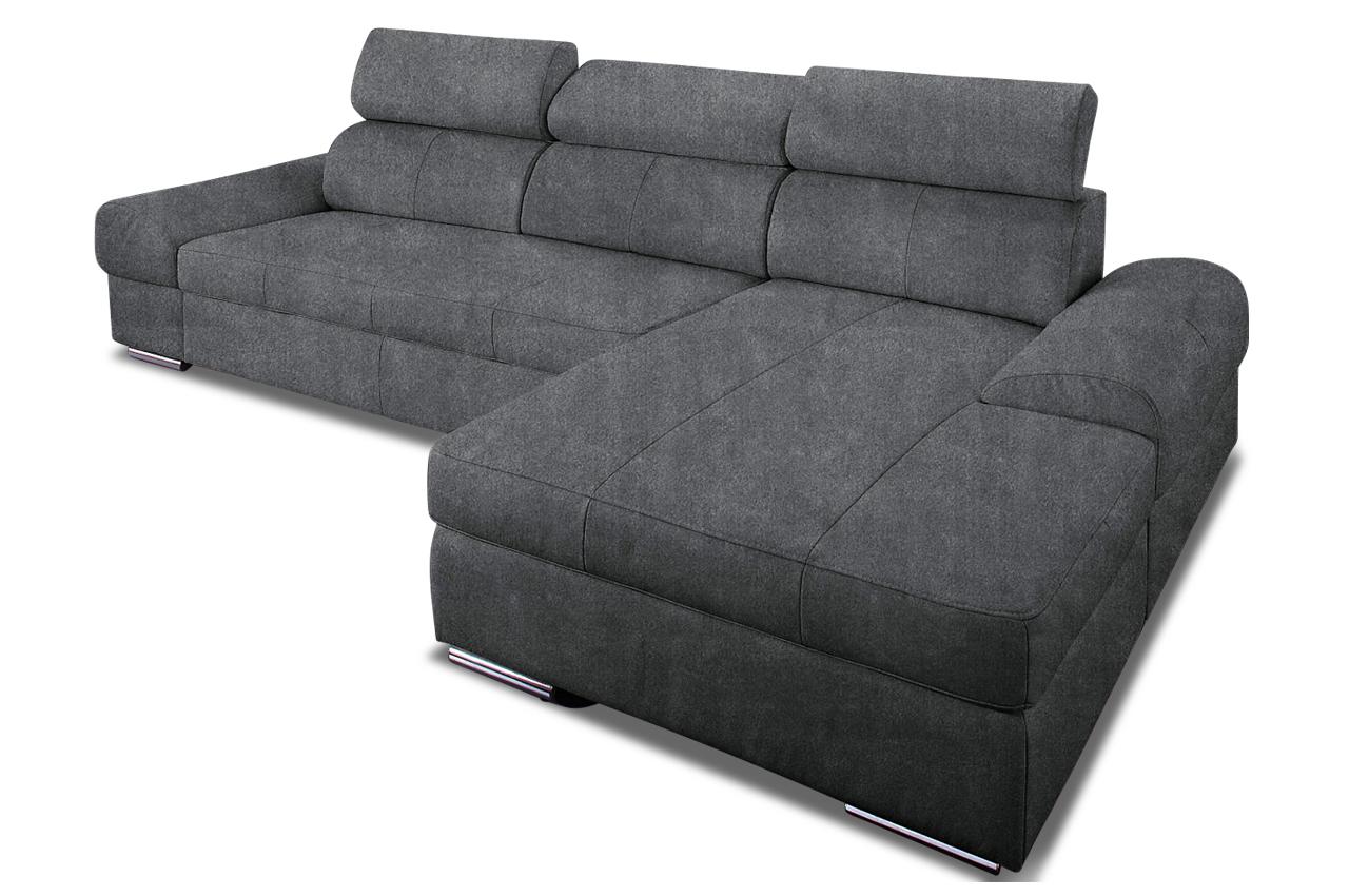 Ecksofa broadway mit schlaffunktion anthrazit sofas for Ecksofa anthrazit