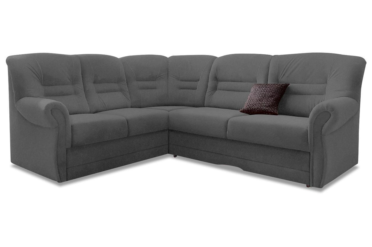 rundecke landeck microfaser sofa couch ecksofa ebay. Black Bedroom Furniture Sets. Home Design Ideas