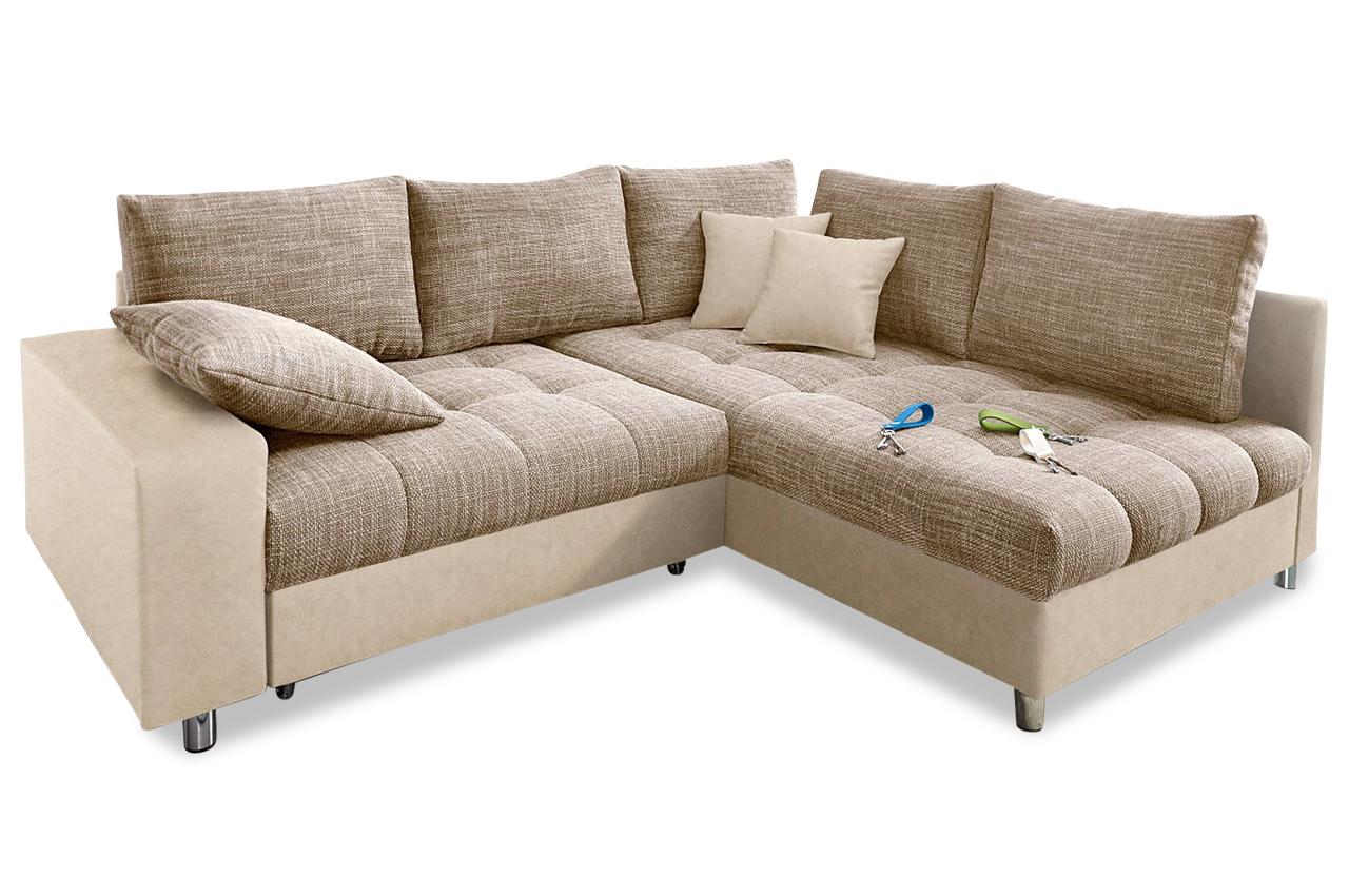 nova via ecksofa xl tobi braun sofas zum halben preis. Black Bedroom Furniture Sets. Home Design Ideas