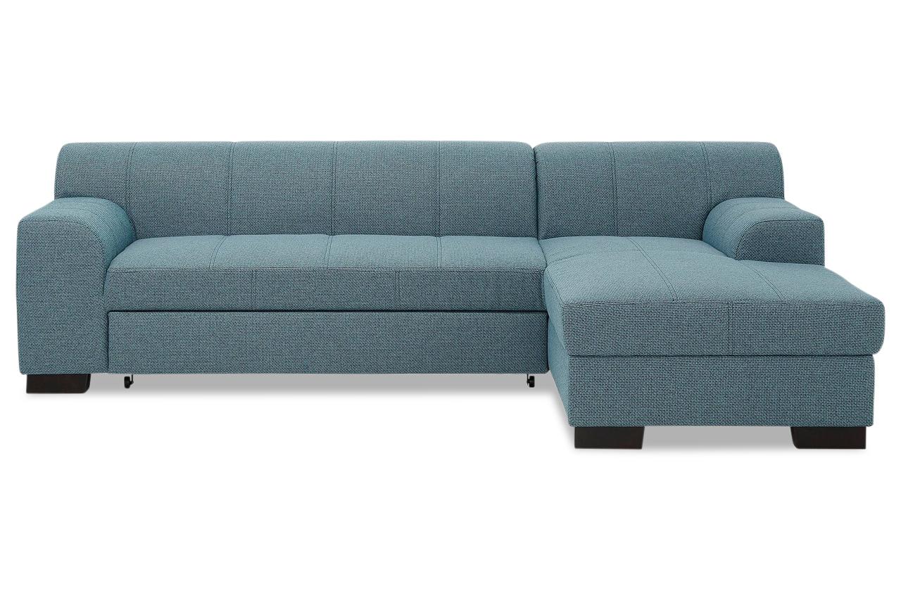 ecksofa falk mit schlaffunktion blau mit federkern sofas zum halben preis. Black Bedroom Furniture Sets. Home Design Ideas