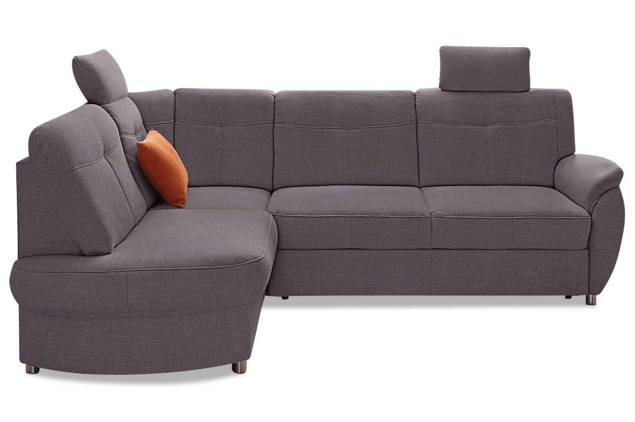 ecksofa xl mit schlaffunktion grau mit federkern. Black Bedroom Furniture Sets. Home Design Ideas