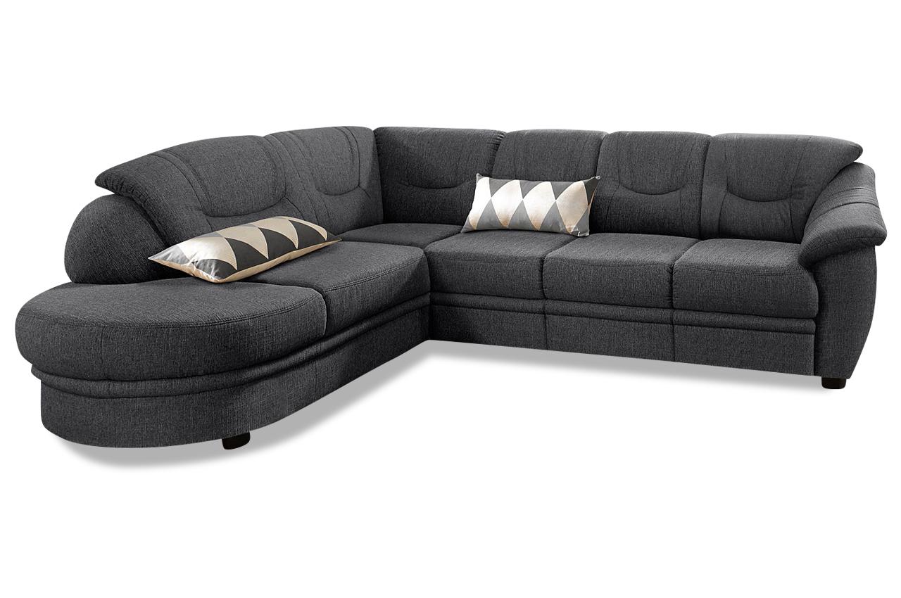 Ecksofa Xl Savoni Mit Schlaffunktion Grau Mit Federkern Sofa Couch Ecksof Ebay