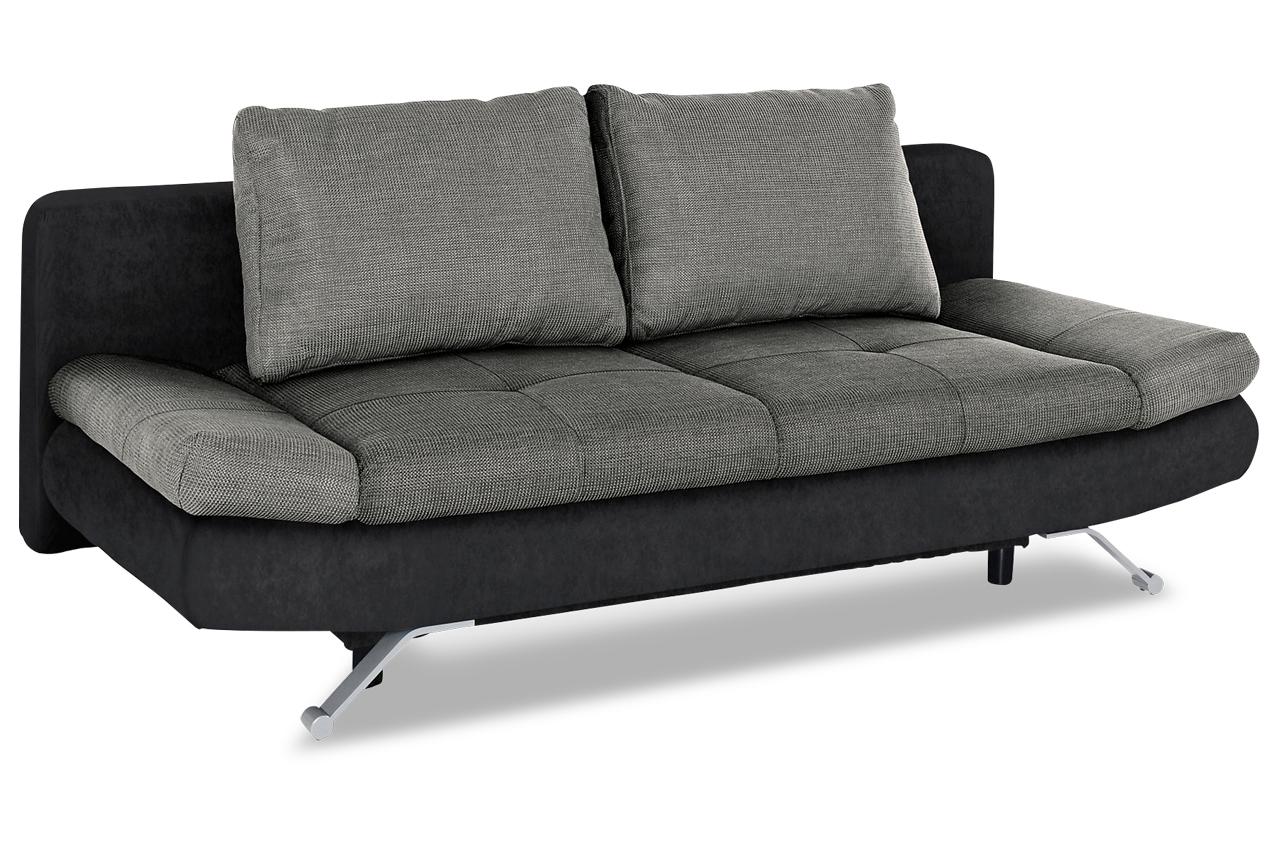 schlafsofa mit schlaffunktion anthrazit sofas zum. Black Bedroom Furniture Sets. Home Design Ideas