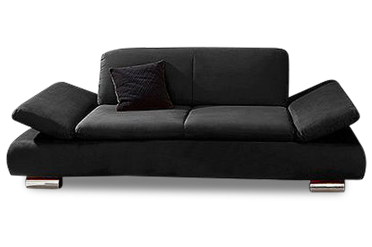 max winzer 2er sofa toulouse schwarz sofas zum halben preis. Black Bedroom Furniture Sets. Home Design Ideas