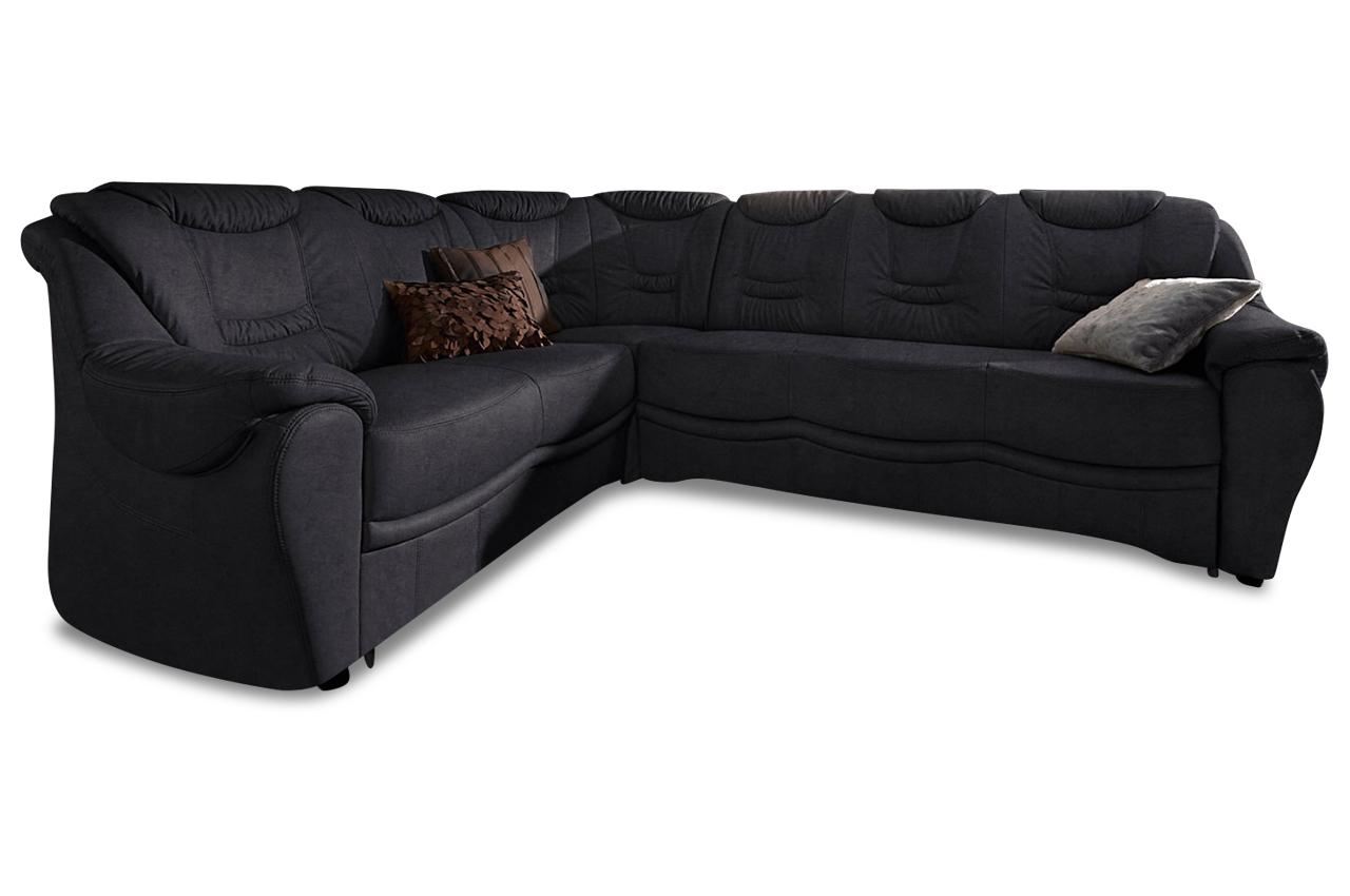rundecke benson schwarz mit federkern sofas zum halben preis. Black Bedroom Furniture Sets. Home Design Ideas