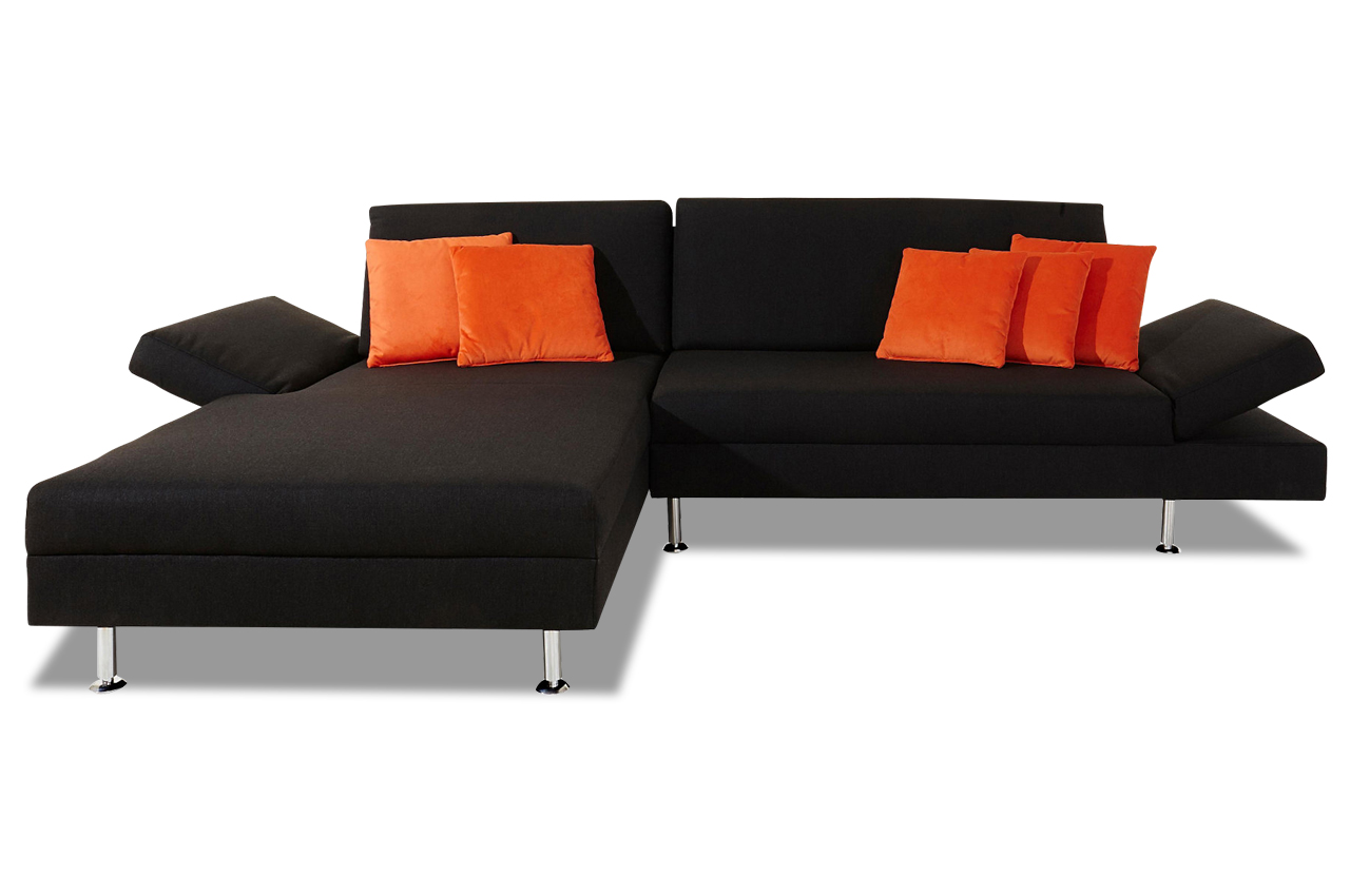 sofa team ecksofa 172 anthrazit sofas zum halben preis. Black Bedroom Furniture Sets. Home Design Ideas