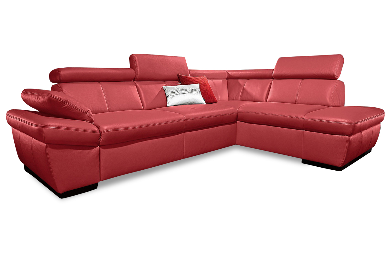 exxpo by gala leder ecksofa salerno mit schlaffunktion. Black Bedroom Furniture Sets. Home Design Ideas