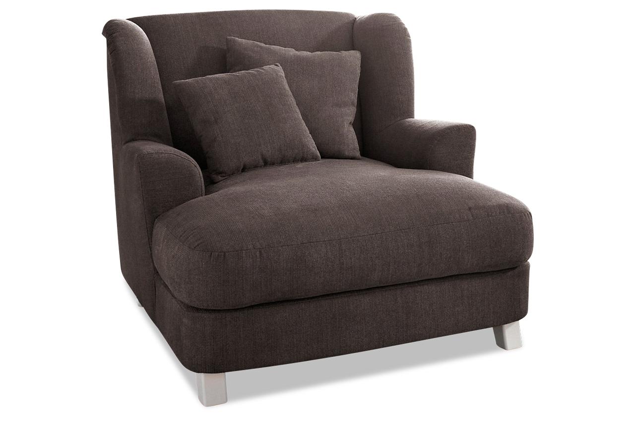 bigsessel xxl braun sofas zum halben preis. Black Bedroom Furniture Sets. Home Design Ideas